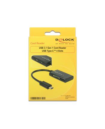 Czytnik kart Delock na USB 3.1 GEN1 All In One