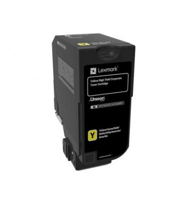 Zwrotna kaseta z tonerem Lexmark yellow | 16 000 str. | CX725de / CX725dhe