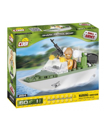 COBI 2154 Small Army Shark Patrol Boat 60kl