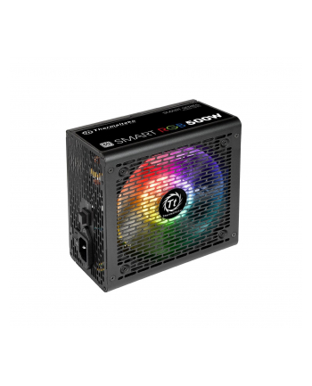 Smart 500W RGB (80+ 230V EU, 2xPEG, 120mm, Single Rail)