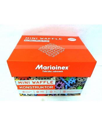 mario-inex Klocki Wafle mini 500szt. Konstruktor w pud.