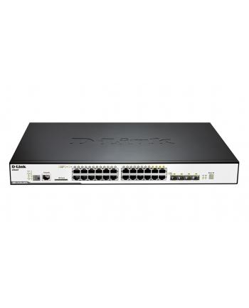 d-link DGS-3120-24PC/SI  24port Gbit L2 PoE+SFP