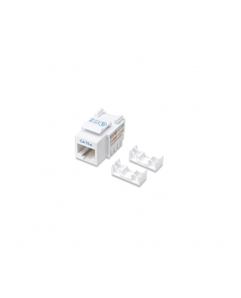 intellinet Moduł Keystone Cat.5e, UTP, biały