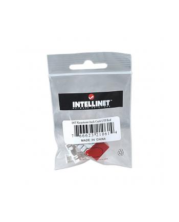intellinet Moduł Keystone Cat6 UTP RJ45 zaciskany czerwony