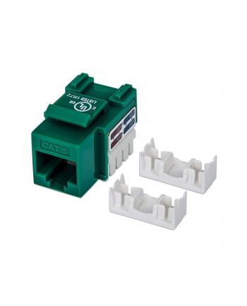 intellinet Moduł Keystone Cat6 UTP RJ45 zaciskany zielony