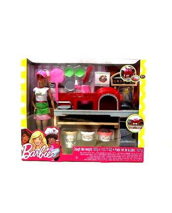 Barbie Pizzeria zestaw z lalką FHR09 p3 MATTEL