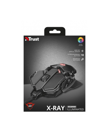 trust GXT 138 X-Ray Mysz gamingowa