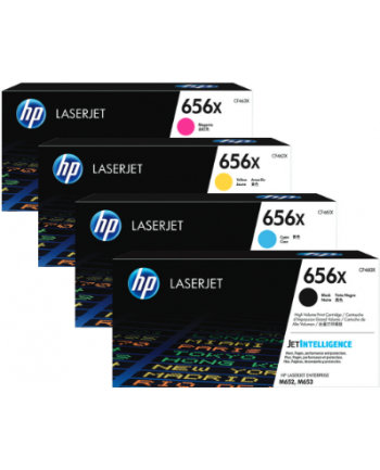 hp inc. 656X Żółty Toner Cartridge CF462X
