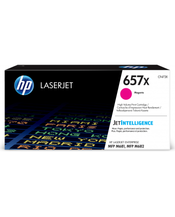 hp inc. 657X Magenta Toner Cartridge CF473X