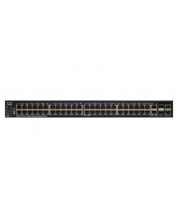 cisco SG550X-48 switch 48x1GbE 2xCombo(RJ45-10GbE/SFP+) 2xSFP+  stack SG550X-48-K9-EU
