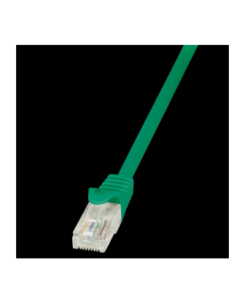 logilink Patch Cable CAT.5e U/UTP, 1.5m, zielony