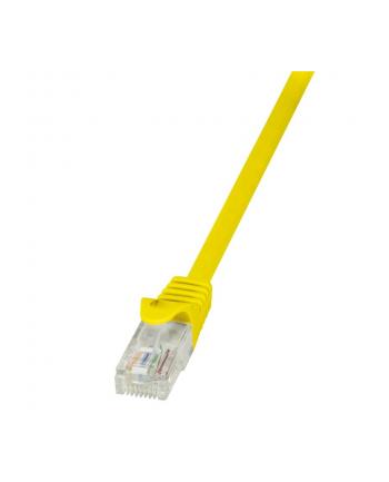 logilink Patch Cable CAT.5e U/UTP, 5m, żółty