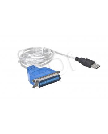 lanberg Adapter USB -> LPT 1.8m biały
