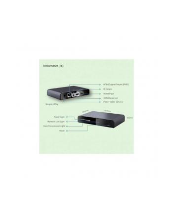 techly Extender HDMI HDbitT po skrętce kat6/6a/7 do 120m, FullHD, z IR