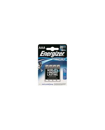 energizer Bateria Ultimate Lithium Litowa AAA L92 4 szt. blister