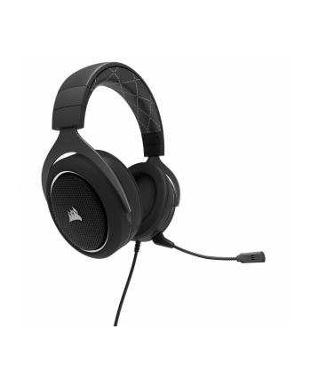 corsair HS60 CARBON Stereo Gaming Zestaw słuchawkowy  SURROUND 7.1 Biały