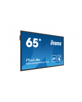 iiyama 65'' TE6568MIS-B1AG, INFRARED,4K,IPS,24/7. multi touch
