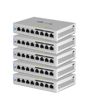 ubiquiti UniFi Switch 8xGbE PoE 60W US-8-60W-5 5szt pakiet