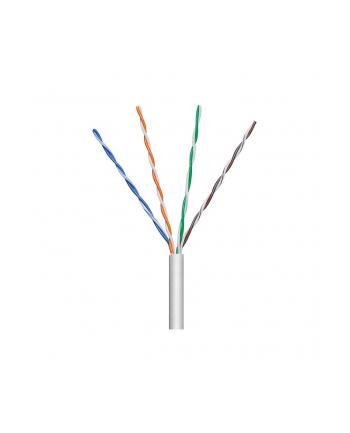 techly Kabel instalacyjny skrętka U/UTP Cat5e 4x2 linka 100% miedź 305m szary