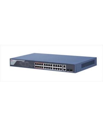 24 Port PoE Switch unmanaged 1 uplink port, PoE power 370W