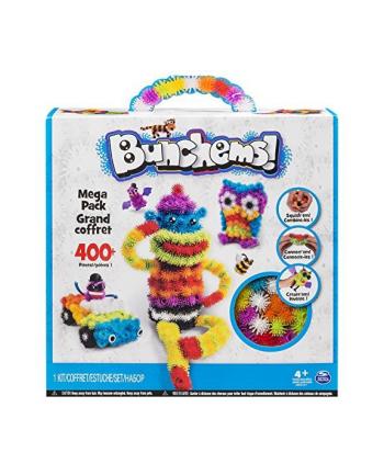 spin master PROMO Bunchems kolorowe rzepy - mega zestaw 406el.w pud.