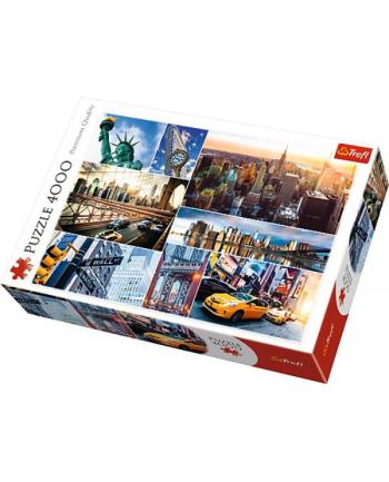 Puzzle 4000el - Nowy York - kolaż 45006 TREFL