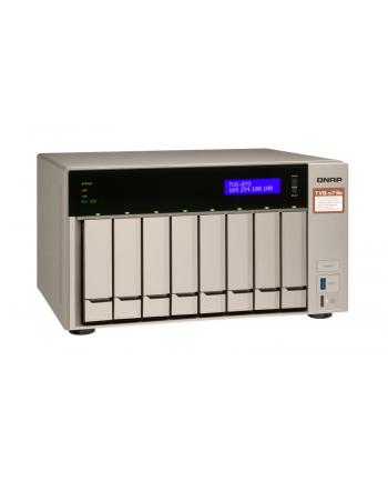 Qnap TVS-873e-4G 8x0HDD 4GB 4x3.4Ghz 2xM2 4xGbE PCIe (w magazynie, ostatnia sztuka w promocji !)