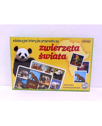 adamigo Zwierzęta świata loteryjka obrazkowa 04683