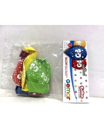 godan Balon 12 z nadr ''10'' pastel mix 5 szt GS110/10
