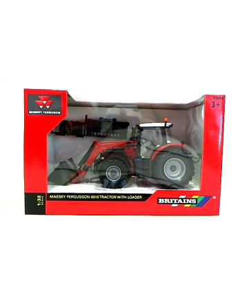 TOMY Massey Ferguson 6616 traktor + ładowacz 43082