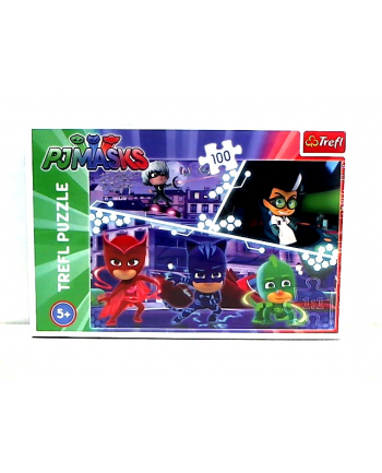 trefl Puzzle 100 PIDŻAMERSI W AKCJI 16334