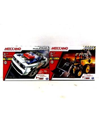 spin master SPIN Meccano koparka /sam.wyścigowy 91851 6040348