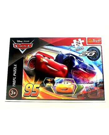 trefl Puzzle 24 MAXI NIECH WYGRA NAJLEPSZY CARS 3 14264