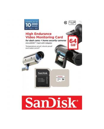 Sandisk High Endurance Video Monitoring microSDHC 64GB (Read/Write) 20Mb/s