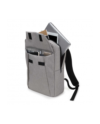 Dicota Backpack Edge 15.6 Plecak na notebook i ubrania, szary
