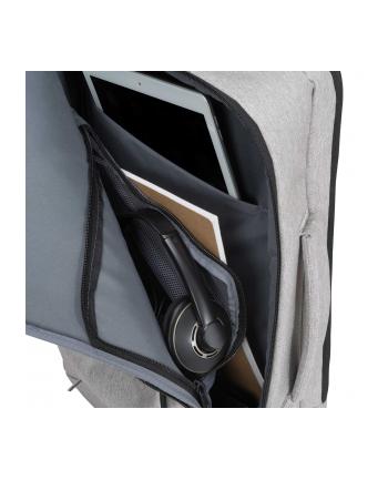 Dicota Backpack Dual Edge 15.6 Plecak na notebook i ubrania, szary