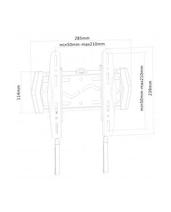 newstar LED-W120 ULTRACIENKI UCHWYT TV LCD DO 22-40 CALI