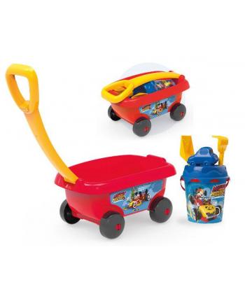 Wózek z akcesoriami do piasku Miki i Raź SMOBY
