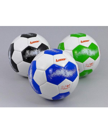 Piłka nożna Laser biało-niebieska 428799 ADAR