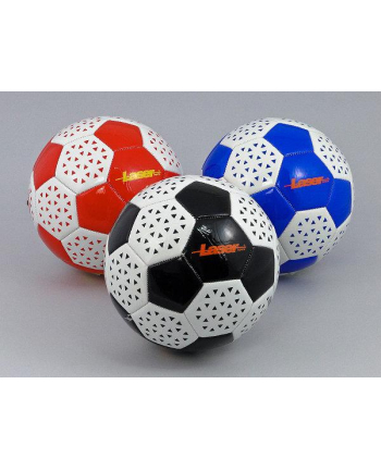 Piłka nożna  Laser supreme biało-czarna 464704 ADAR