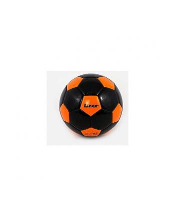 Piłka nożna Laser czarno-pomarańcz. 465091 ADAR
