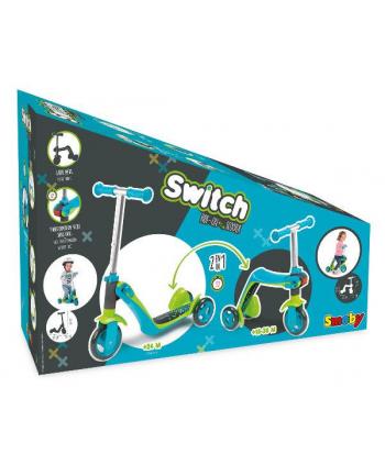 Hulajnoga 2w1 niebieska Switch 750605 SMOBY