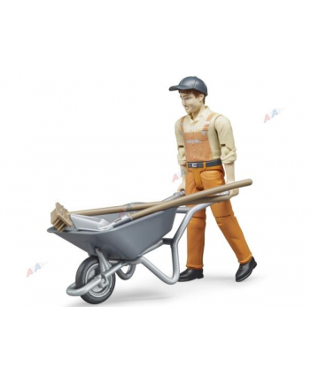 Figurka pracownika komunalnego I 62130 BRUDER