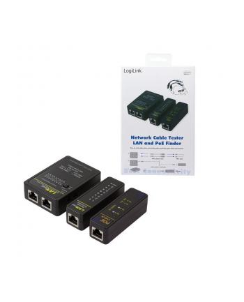 logilink Tester kabli sieciowych z PoE