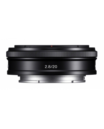 Sony SEL-35F18  E-mount. E20mm F2.8 ZA wide angle lens.