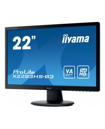 Monitor 22'' IIYAMA X2283HS VA FHD 1920x1080 DP HDMI VGA LS
