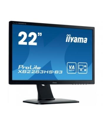 Monitor 22'' IIYAMA XB2283HS VA PIVOT FHD 1920x1080 DP HDMI VGA LS
