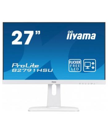 Monitor 27'' IIYAMA B2791HSU PIVOT FHD 1920x1080 USB DP HDMI VGA WH