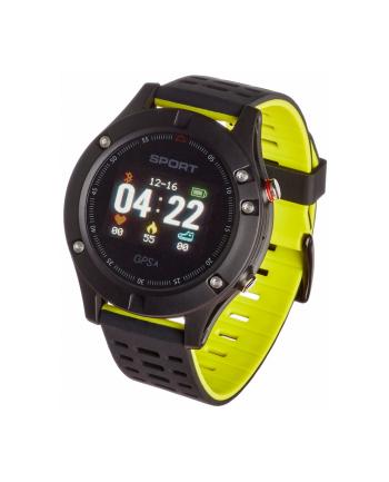 garett electronics SMARTWATCH ZEGAREK SPORTOWY SPORT25 GPS CZARNO-ZIELONY
