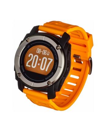 garett electronics SMARTWATCH ZEGAREK SPORTOWY SPORT23 GPS CZARNO-POMARAŃCZOWY